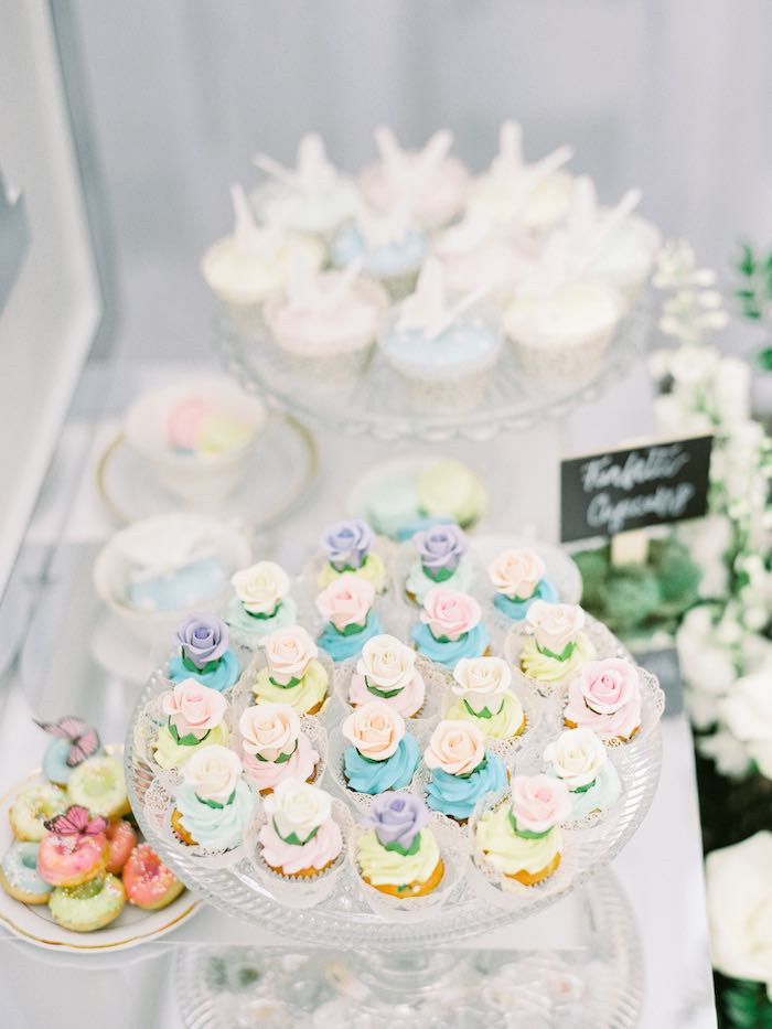 Dessert Table from a Luxury Baby Shower on Kara's Party Ideas | KarasPartyIdeas.com (12)