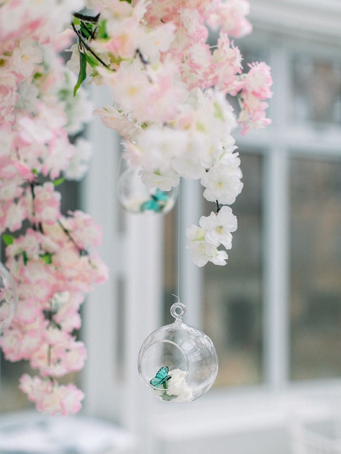 Butterfly Bauble from a Luxury Baby Shower on Kara's Party Ideas | KarasPartyIdeas.com (64)