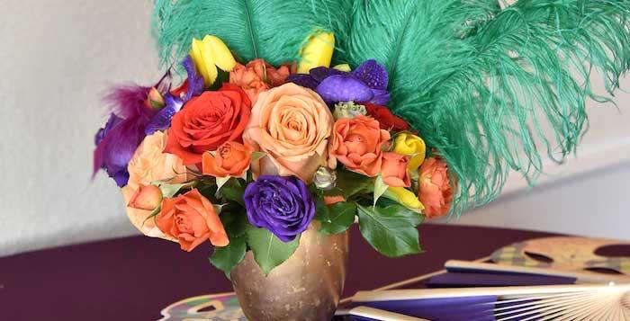 Mardi Gras 70th Birthday Party on Kara's Party Ideas | KarasPartyIdeas.com (4)