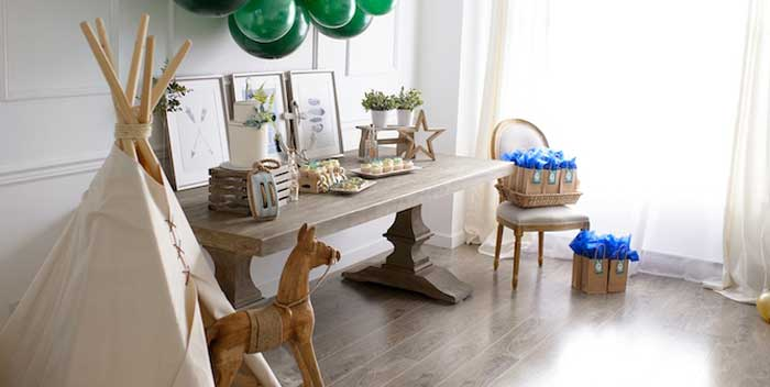 Minimal Neverland + Lost Boys Birthday Party on Kara's Party Ideas | KarasPartyIdeas.com (2)