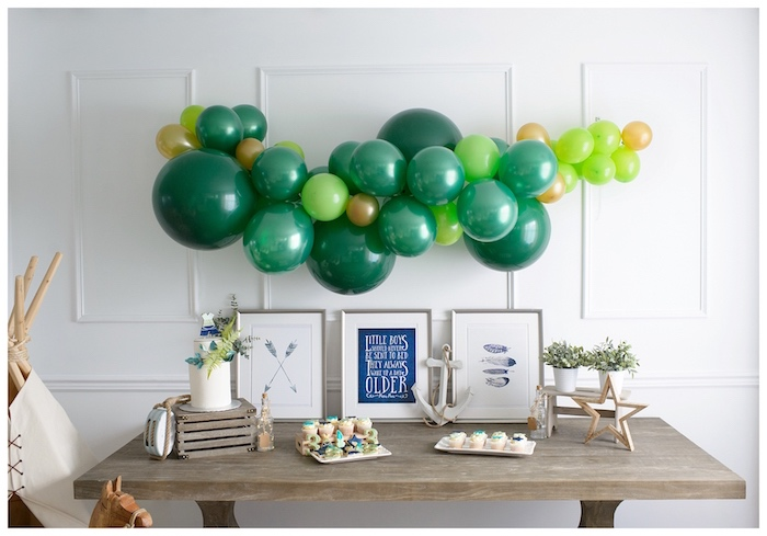 Minimal Neverland + Lost Boys Birthday Party on Kara's Party Ideas | KarasPartyIdeas.com (12)