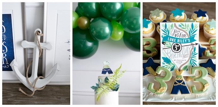 Minimal Neverland + Lost Boys Birthday Party on Kara's Party Ideas | KarasPartyIdeas.com (8)