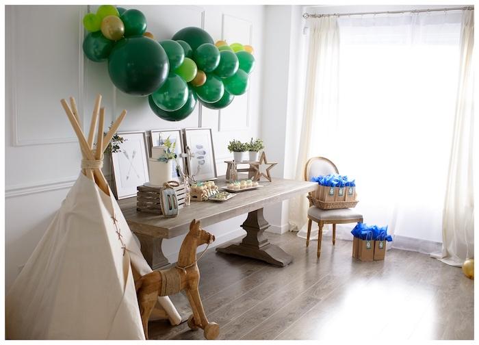 Minimal Neverland + Lost Boys Birthday Party on Kara's Party Ideas | KarasPartyIdeas.com (7)