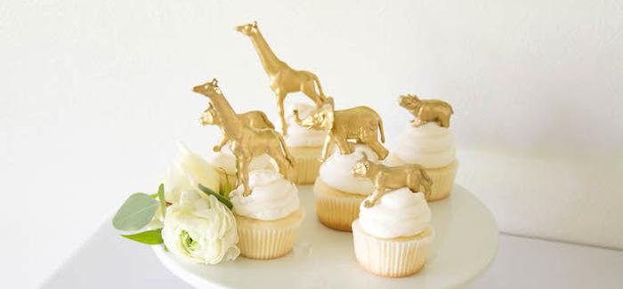 Minimal Safari Birthday Party on Kara's Party Ideas | KarasPartyIdeas.com (3)