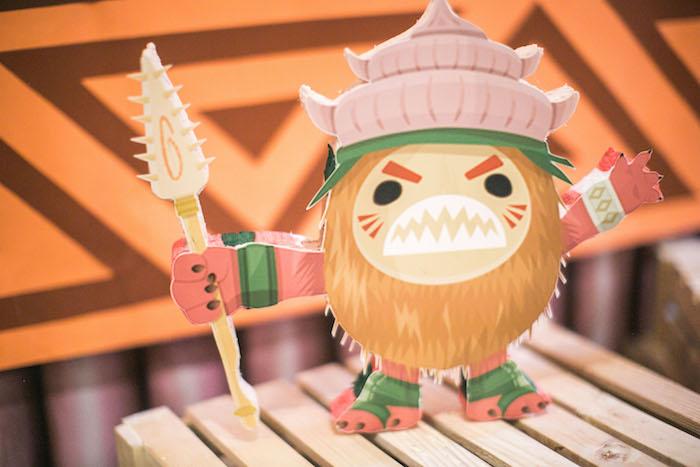 Kakamora from a Moana Inspired Birthday Party on Kara's Party Ideas   KarasPartyIdeas.com (14)