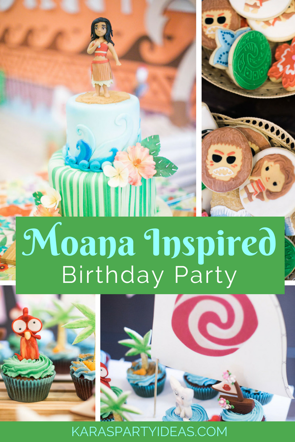 Moana Inspired Birthday Party via KarasPartyIdeas - KarasPartyIdeas.com