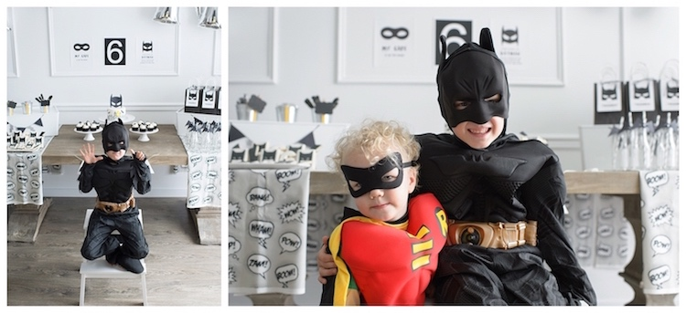 Monochromatic Batman Birthday Party on Kara's Party Ideas | KarasPartyIdeas.com (7)