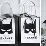 Monochromatic Batman Birthday Party on Kara's Party Ideas | KarasPartyIdeas.com (5)