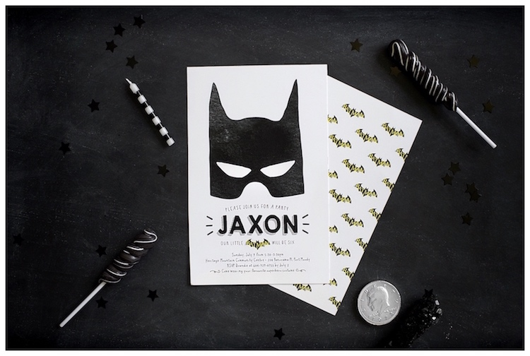 Monochromatic Batman Birthday Party on Kara's Party Ideas | KarasPartyIdeas.com (17)