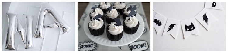 Monochromatic Batman Birthday Party on Kara's Party Ideas | KarasPartyIdeas.com (10)