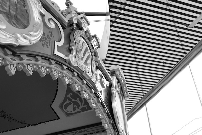 Monochromatic Carousel from a Monochromatic Carousel Birthday Party on Kara's Party Ideas | KarasPartyIdeas.com (6)