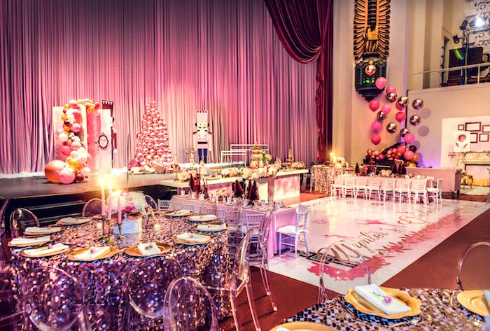 Nutcracker Ballet Winter Wonderland Party on Kara's Party Ideas | KarasPartyIdeas.com (8)