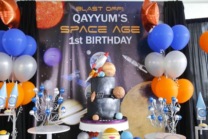 Outer Space Birthday Party on Kara's Party Ideas | KarasPartyIdeas.com (20)