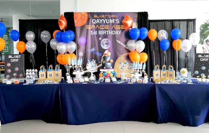 Outer Space Birthday Party on Kara's Party Ideas | KarasPartyIdeas.com (19)