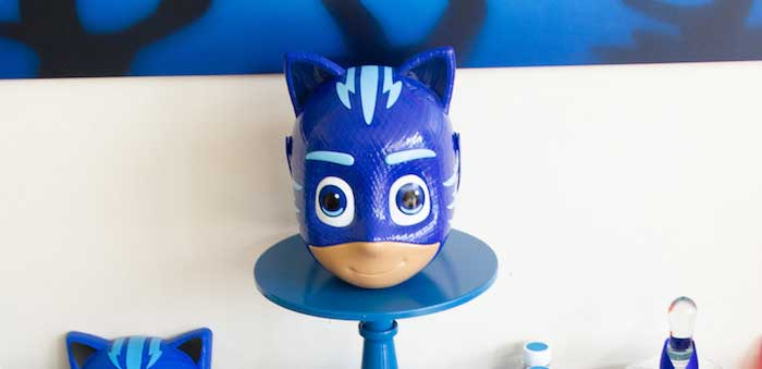 PJ Masks Birthday Party on Kara's Party Ideas | KarasPartyIdeas,com (4)