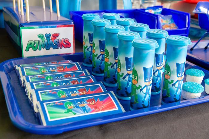 PJ Masks Birthday Party on Kara's Party Ideas | KarasPartyIdeas,com (20)