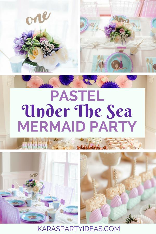 Pastel Under the Sea Mermaid Party via Kara_s Party Ideas - KarasPartyIdeas.com.png