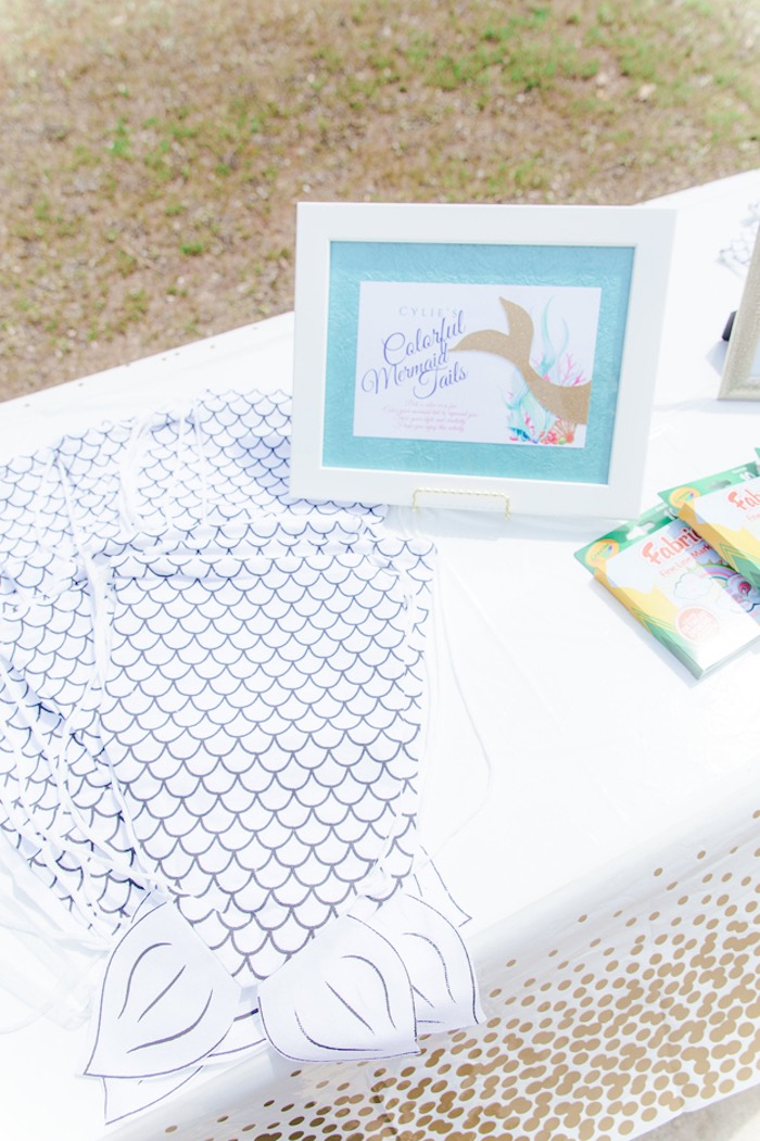 Mermaid Fin Coloring Pages from a Pastel Under the Sea Mermaid Party on Kara's Party Ideas | KarasPartyIdeas.com (5)