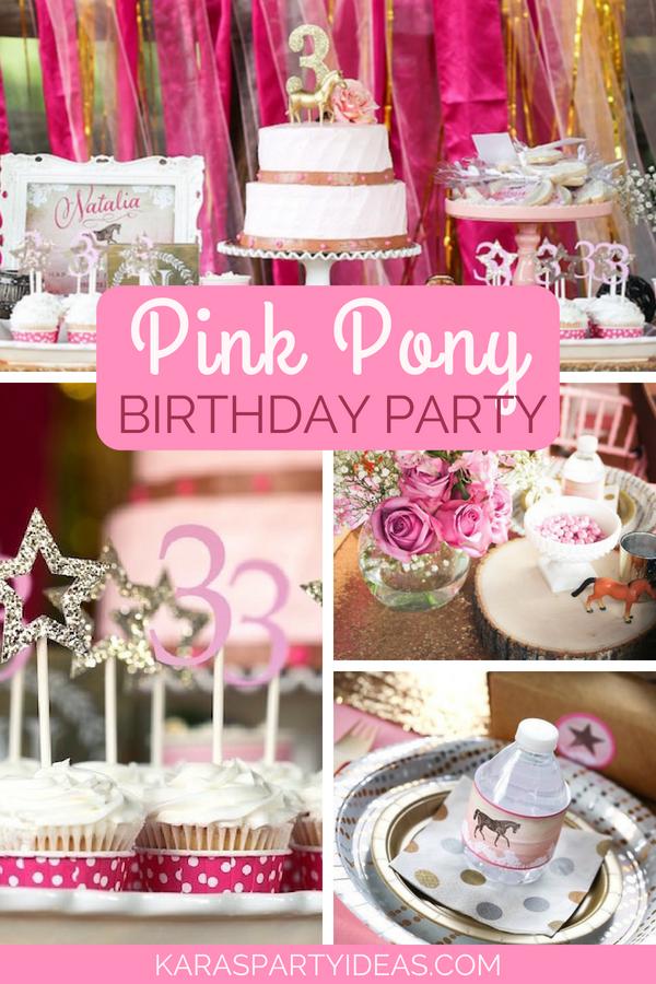 Pink Pony Birthday Party via Kara_s Party Ideas - KarasPartyIdeas.com.png