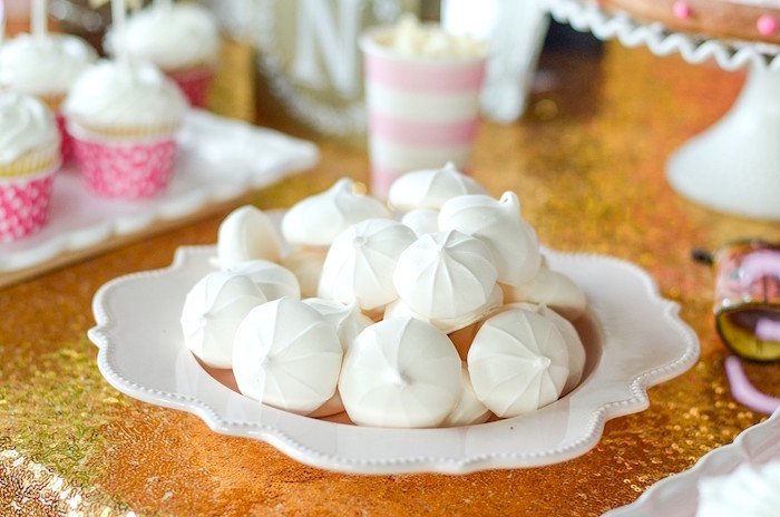 Meringue Cookies from a Pink Pony Birthday Party on Kara's Party Ideas | KarasPartyIdeas.com (12)