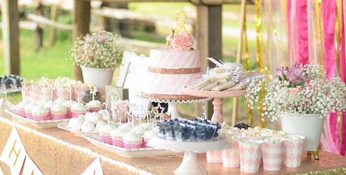 Pink Pony Birthday Party on Kara's Party Ideas | KarasPartyIdeas.com (1)