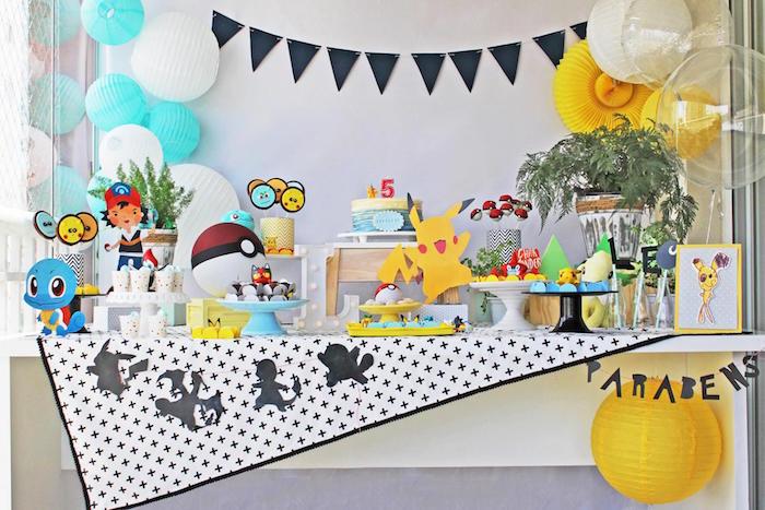 Pokemon Birthday Party on Kara's Party Ideas | KarasPartyIdeas.com (14)