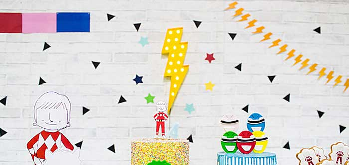 Power Rangers Birthday Party on Kara's Party Ideas | KarasPartyIdeas.com (4)