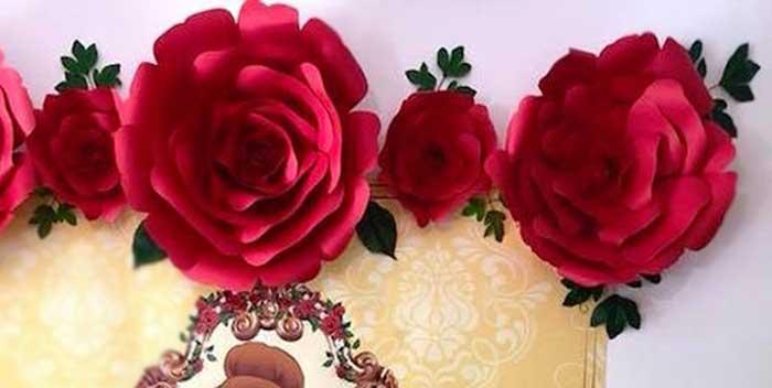 Princess Belle + Beauty & the Beast Birthday Party on Kara's Party Ideas | KarasPartyIdeas.com (2)