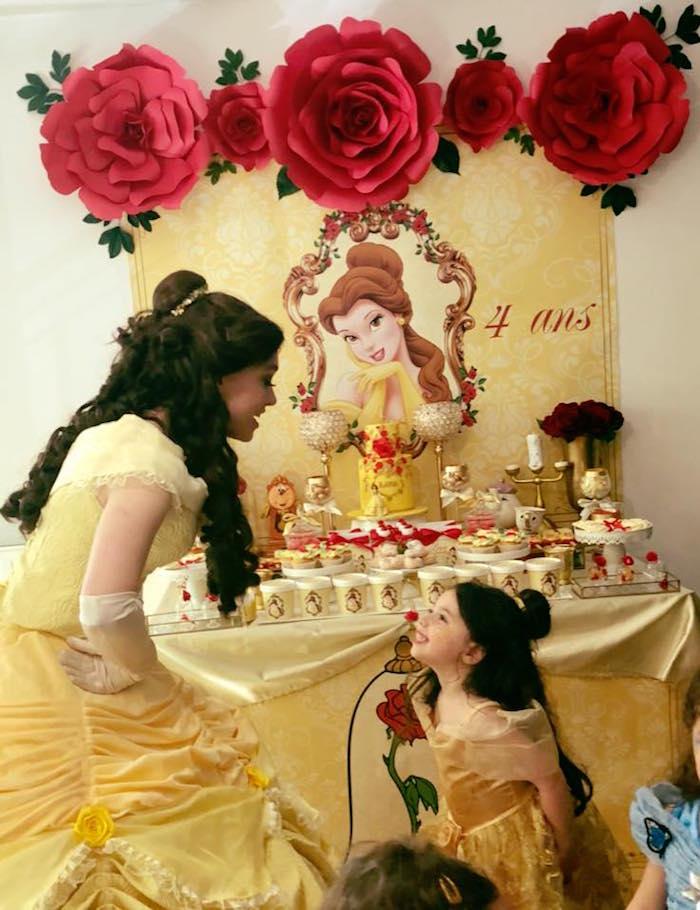 Princess Belle + Beauty & the Beast Birthday Party on Kara's Party Ideas | KarasPartyIdeas.com (14)