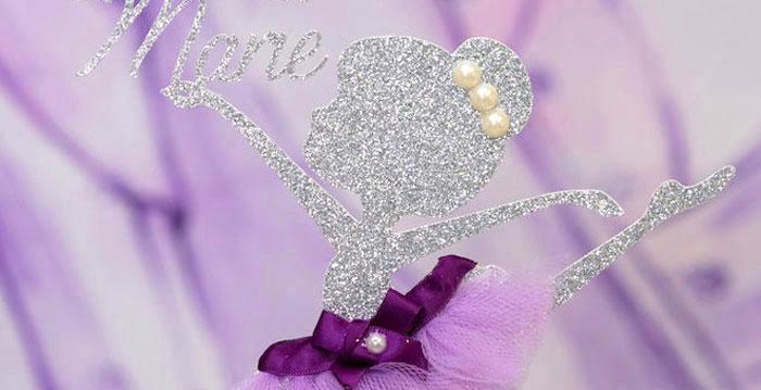 Purple Ballerina Birthday Party on Kara's Party Ideas | KarasPartyIdeas.com (1)