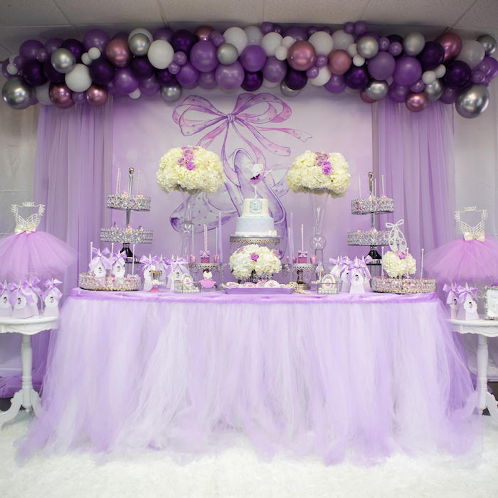 Karas Party Ideas Purple Ballerina Birthday Party Karas Party Ideas