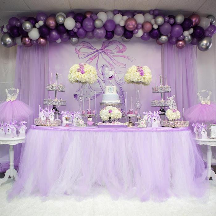 Kara S Party Ideas Purple Ballerina Birthday Party Kara