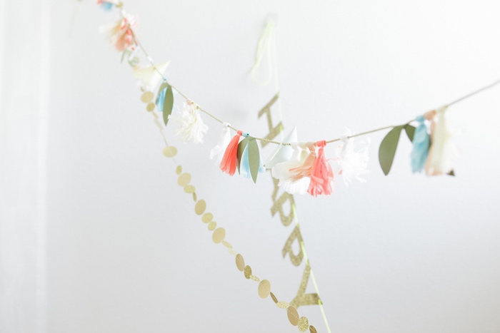 Glam Bunting + Banners from a Queen of Hearts Birthday Tea Party on Kara's Party Ideas | KarasPartyIdeas.com (11)