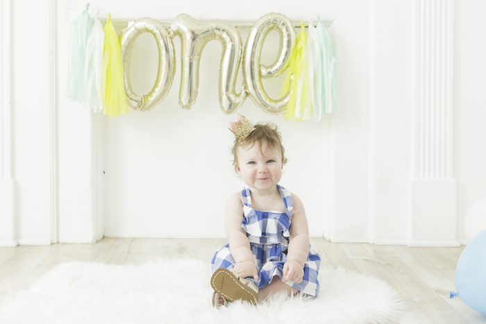 Balloon Tassel Photo Banner from a Queen of Hearts Birthday Tea Party on Kara's Party Ideas | KarasPartyIdeas.com (5)