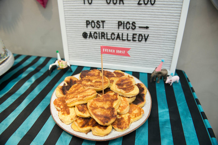 French Toast from a Rock 'n Roll Animal Birthday Party on Kara's Party Ideas | KarasPartyIdeas.com (21)