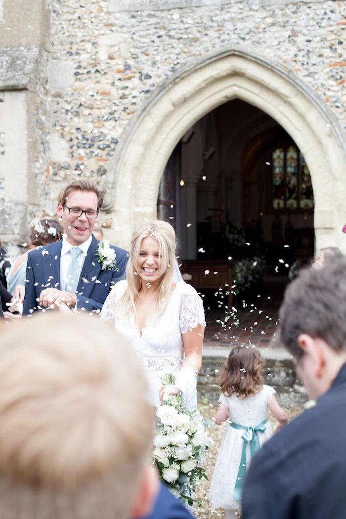 Romantic Garden Wedding on Kara's Party Ideas | KarasPartyIdeas.com (25)
