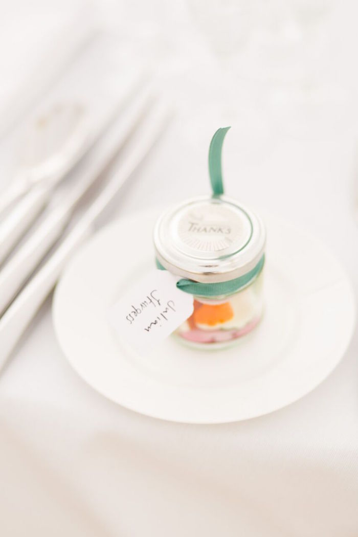 Favor Jar from a Romantic Garden Wedding on Kara's Party Ideas | KarasPartyIdeas.com (14)