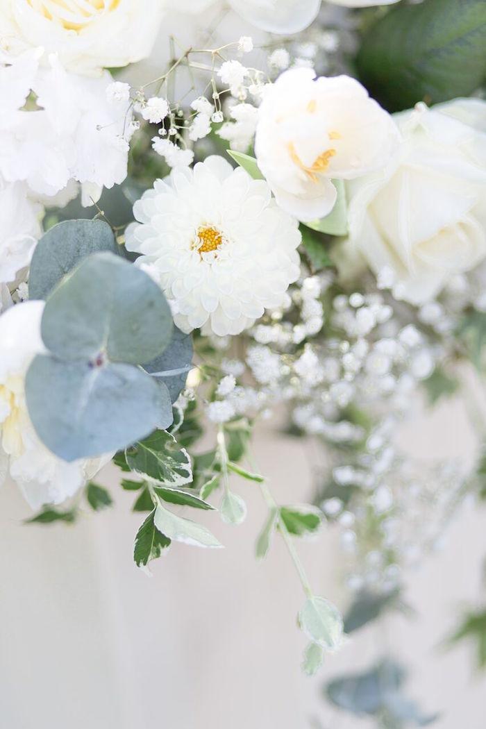 White Blooms from a Romantic Garden Wedding on Kara's Party Ideas | KarasPartyIdeas.com (12)