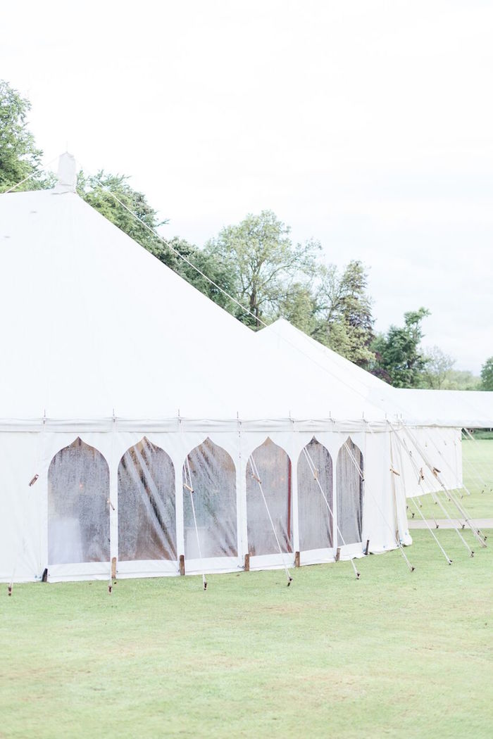 Tent from a Romantic Garden Wedding on Kara's Party Ideas | KarasPartyIdeas.com (3)