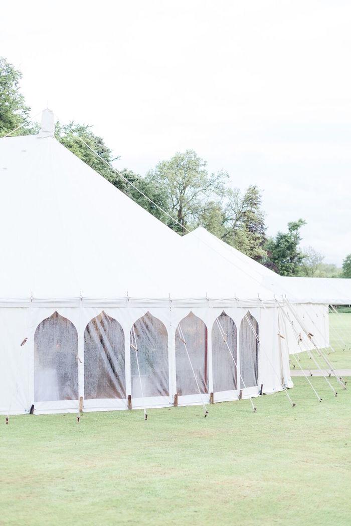 Tent from a Romantic Garden Wedding on Kara's Party Ideas | KarasPartyIdeas.com (3)