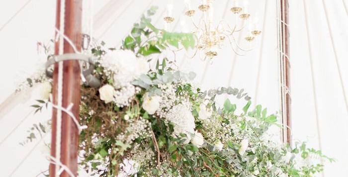 Romantic Garden Wedding on Kara's Party Ideas | KarasPartyIdeas.com (1)