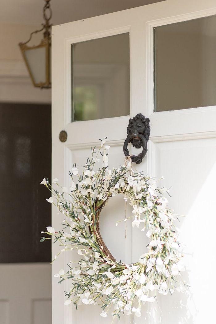 Garden Wreath from a Romantic Garden Wedding on Kara's Party Ideas | KarasPartyIdeas.com (34)