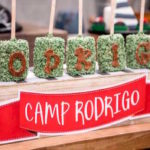 Rustic Camping Birthday Party on Kara's Party Ideas | KarasPartyIdeas.com (3)