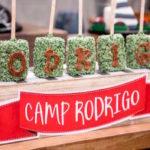 Rustic Camping Birthday Party on Kara's Party Ideas | KarasPartyIdeas.com (3)