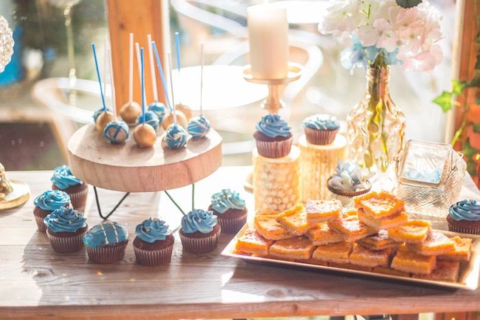 Rustic Denim Inspired 40th Birthday Party on Kara's Party Ideas | KarasPartyIdeas.com (9)