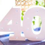 Rustic Denim Inspired 40th Birthday Party on Kara's Party Ideas | KarasPartyIdeas.com (2)