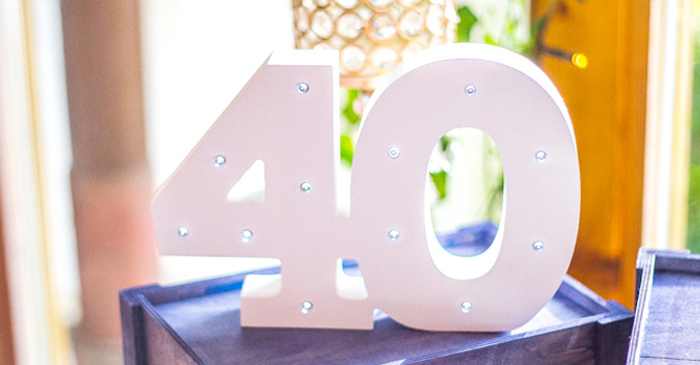 Rustic Denim Inspired 40th Birthday Party on Kara's Party Ideas | KarasPartyIdeas.com (2)