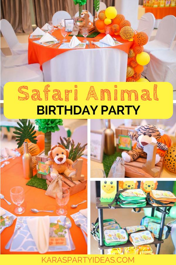 Safari Animal Birthday Party via Kara_s Party Ideas - KarasPartyIdeas.com.png