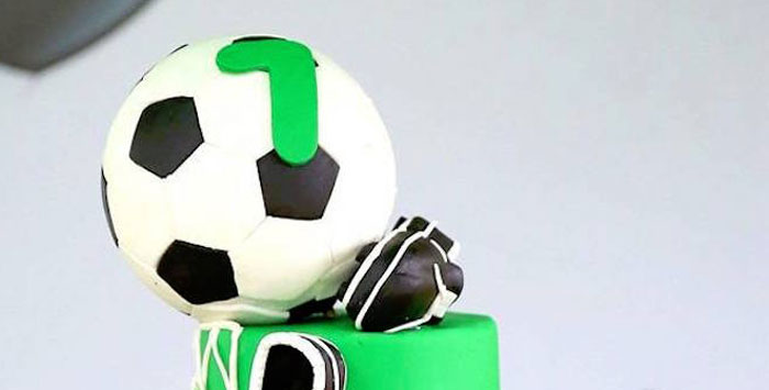 Soccer Birthday Party on Kara's Party Ideas | KarasPartyIdeas.com (3)