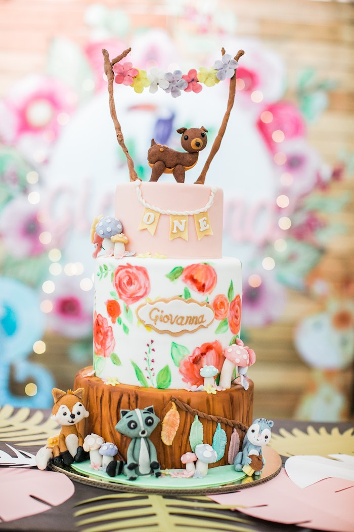 Springtime Forest + Jungle Animal Party on Kara's Party Ideas | KarasPartyIdeas.com (24)